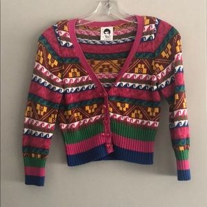 Vintage Betsey Johnson Cardigan